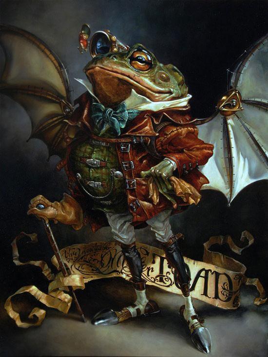 peintures-disney-grenouille
