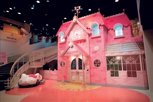 sanrio-puroland-kitty-house