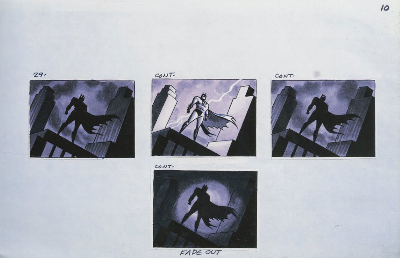 story-board-dc-batman