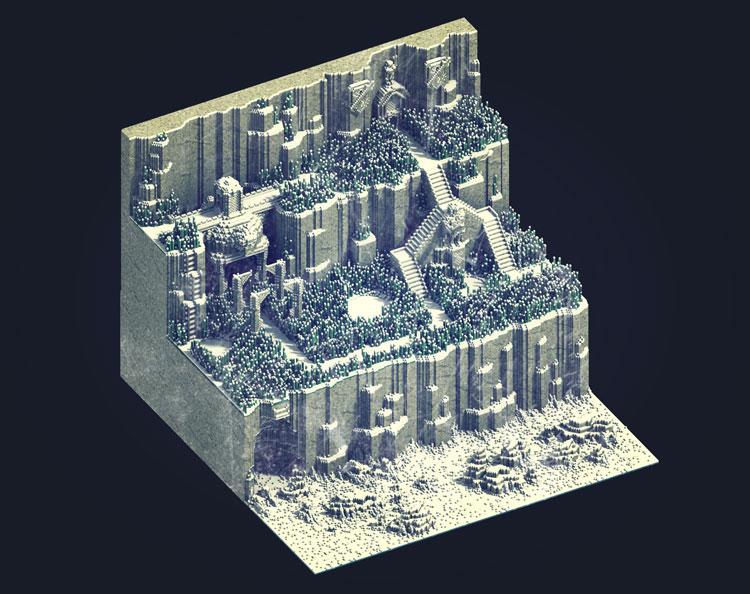 voxel-art-3d