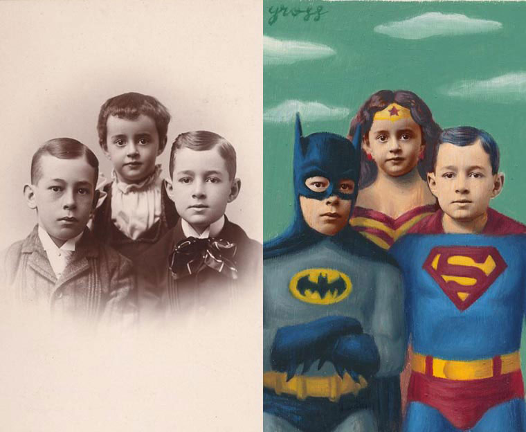 Alex-Gross-bat-kids