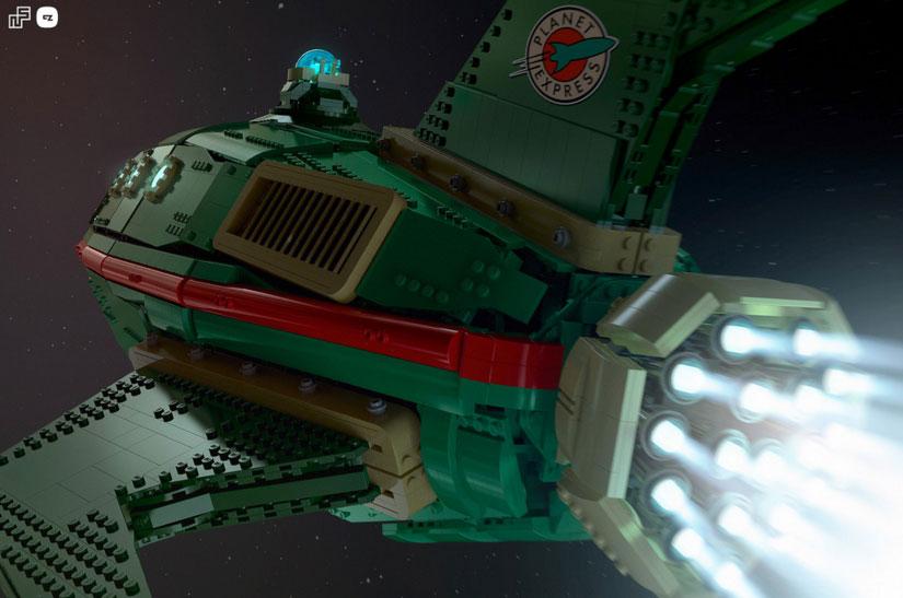 futurama-vaisseau-lego