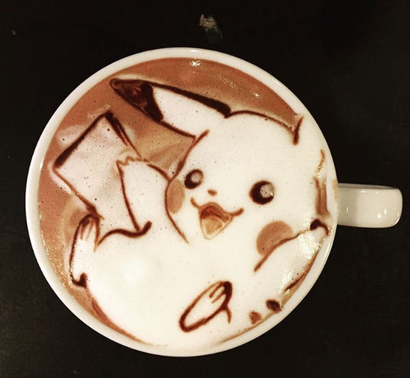 latte-pikachu