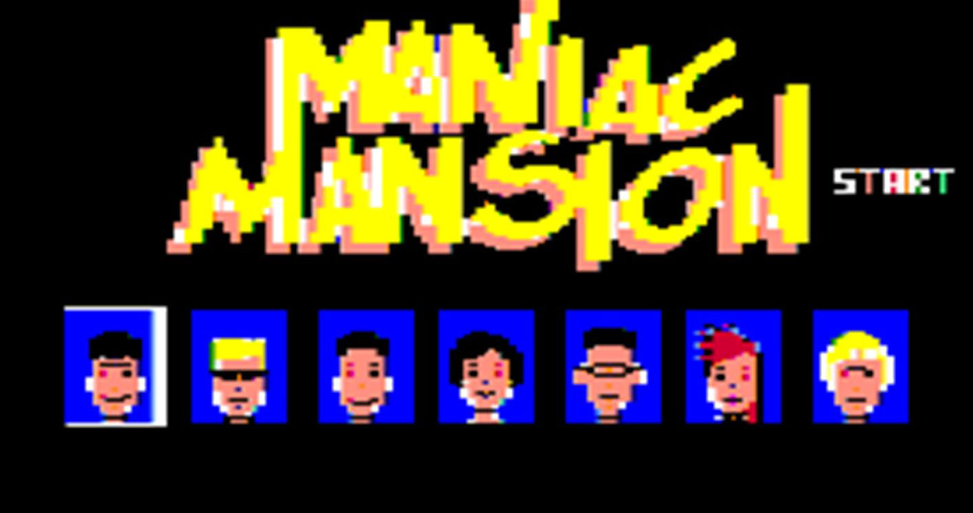 maniac-mansion-menu