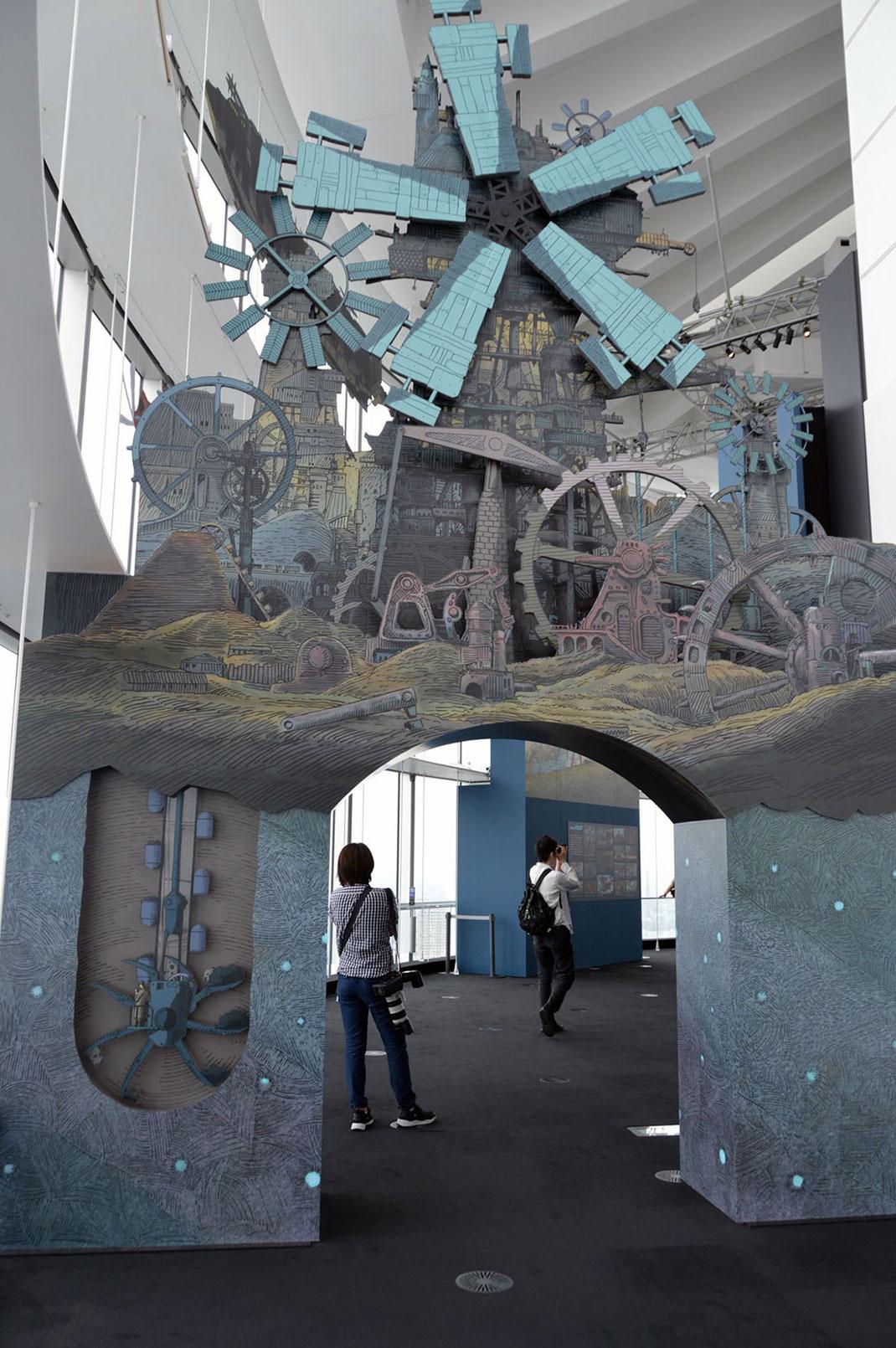 moulin-maquette-expo-ghibli